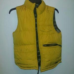Gap kid's reversible bubble vest.